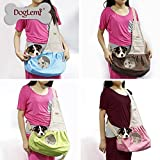 DogLemi-Pet-Sling-Carrier-Dog-Sling-Bag-Shoulder-Carry-Bag-with-Extra-Pocket-for-Cat-Kitty-Dog-Puppy-Rabbit-Small-Animals