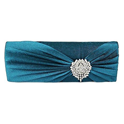 Vert Fablook Femme M l The Pour Sarcelle AccPochette Bleu XPkO80wNn