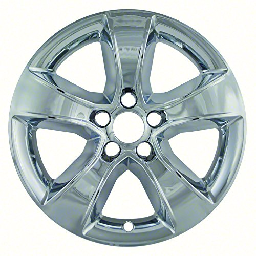 Premium OEM Style Chrome Wheel Skins for 2008-2014 Dodge Charger (Pack of 4) -