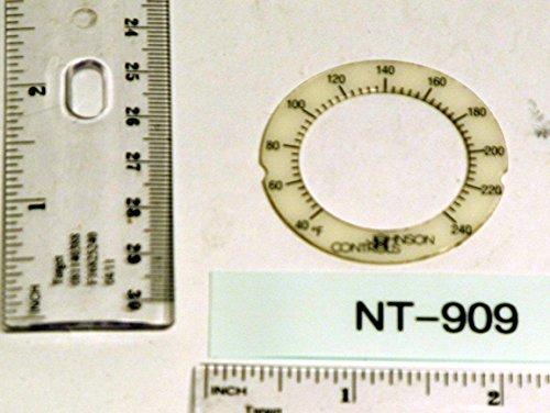 Johnson Controls, Inc. NT909 40-240 F GUAGE DIAL ONLY