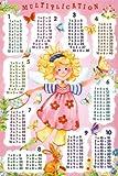 Poster Fee Das kleine Einmaleins - für lernende Schulmädchen - Größe 61 x 91,5 cm - Maxiposter