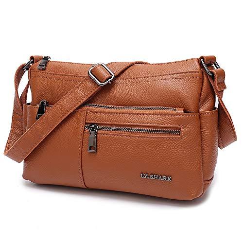 834c074431d HITSAN INCORPORATION LY.SHARK Ladies' Genuine Leather Bag Luxury ...