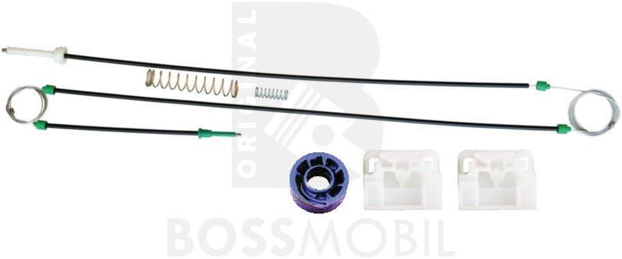 Amazon.es: Bossmobil A3 (8P1), Delantero izquierdo, kit de reparación de elevalunas eléctricos