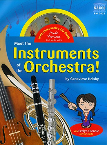 Meet the Instruments of the Orchestra (Book and CD-ROM) Genevieve Helsby