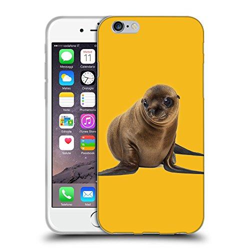 GoGoMobile Coque de Protection TPU Silicone Case pour // Q05740602 Mignon lion mer Ambra // Apple iPhone 7