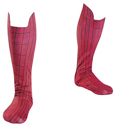 Disguise The Amazing Spiderman Deluxe Boot Covers Halloween Costume -