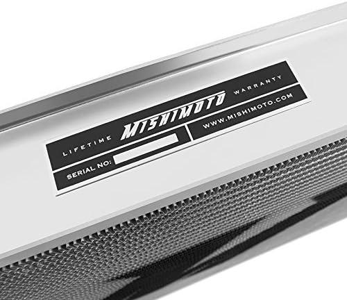 Mishimoto MMRADE3692 6899 MMRAD-E36-92-Radiatore in Alluminio per BMW E30//E36 Performance Argento Colore 1988-1999