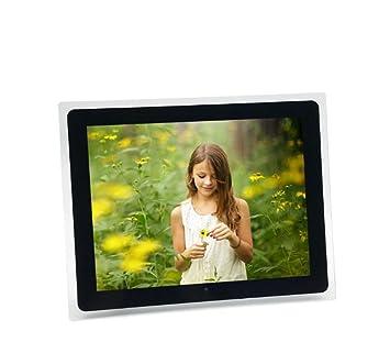 Marcos Digitales Marco de la foto digital y marco de vídeo HD con sensor de movimiento