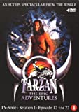 Tarzan: The Epic Adventures - Season 1 (Ep. 12-22) - 4-DVD Box Set ( Tarzan: The Epic Adventures - Season One - Episodes Twelve to Twenty Two ) [ NON-USA FORMAT, PAL, Reg.2 Import - Netherlands ]