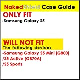 Samsung Galaxy S5 Case, [NakedShield] [Black Bumper] Heavy Duty Shock Proof Armor Art Phone Case - [Flux Capacitor] for Samsung Galaxy S5