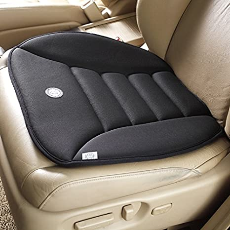SmartDirect Coccyx Care Memory Foam Seat Cushion For Car Office Home Use Black