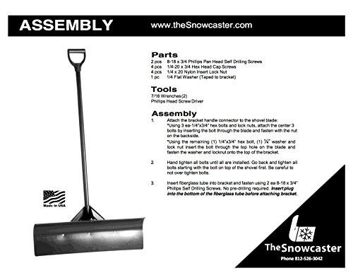 Buy snow pusher shovel