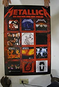 (24x36) Metallica (Album Covers) Music Poster Print