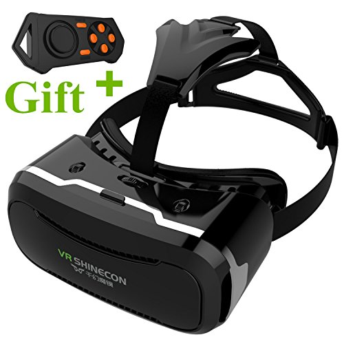3D VR Glasses, Tsanglight 3D Virtual Reality Headset with...