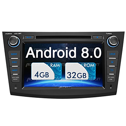 PUMPKIN Android 8.0 Car Stereo for Mazda 3 with DVD Player