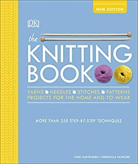Book Cover: The Knitting Book: Over 250 Step-by-Step Techniques