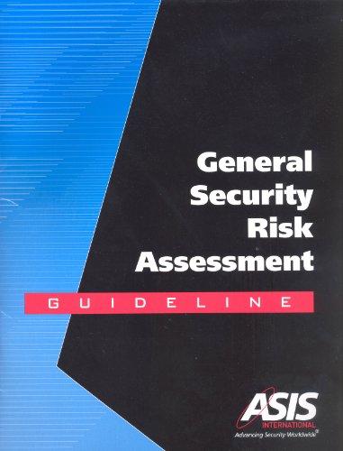Download General Security Risk Assessment Guideline Pdf