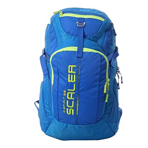 Sincere® Verpackung / Rucksäcke / Mobil / Ultraleicht im Freienbergrucksack / Outdoor-Reisen Wandertasche / mit Baldachin-blau 35L