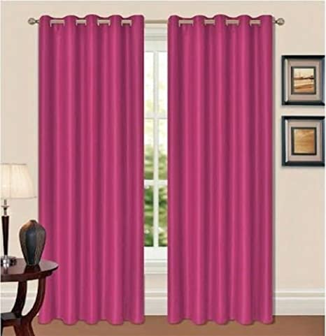 Blackout Curtains Eyelet Ring Top Thermal Fully Lined Solar Pair Ready Made Ties 66 Width X 72 Drop Beige Amazoncouk Kitchen Home