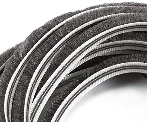 Window Weather Seal Strip 1//5 inches wide x 5//16 inches thick x 10 feet long