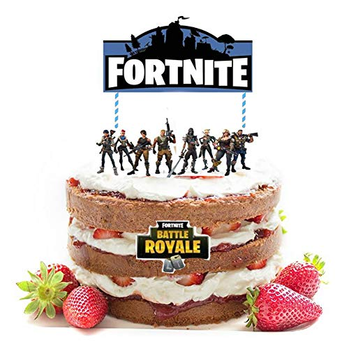 Price comparison product image Cake Topper for Video Gamer Birthday,  Sarissa Birthday Cake Topper Party Favor Party Banner Birthday Party Supplies Decoration Supply Centerpiece Video Game