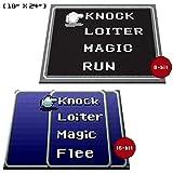 GG Promo Retro RPG Menu Doormat Welcome Floormat (18'x24', 16-bit Blue)