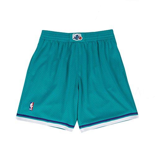 Charlotte Hornets Mitchell & Ness Teal Swingman Shorts (Large)