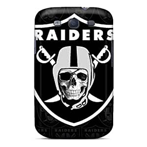 Scratch Protection Hard Phone Covers For Samsung Galaxy S3 (nvB5142CUxe) Provide Private Custom Trendy Oakland Raiders Pattern