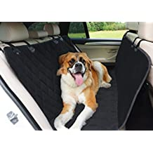 TOP RATED Hammock Dog Car Seat Cover for Cars, SUVs and Trucks - Waterproof Highly Protective Nonslip Pet Seat Cover with Seat Anchors - The Best Luxury Protector for Your Back Seat