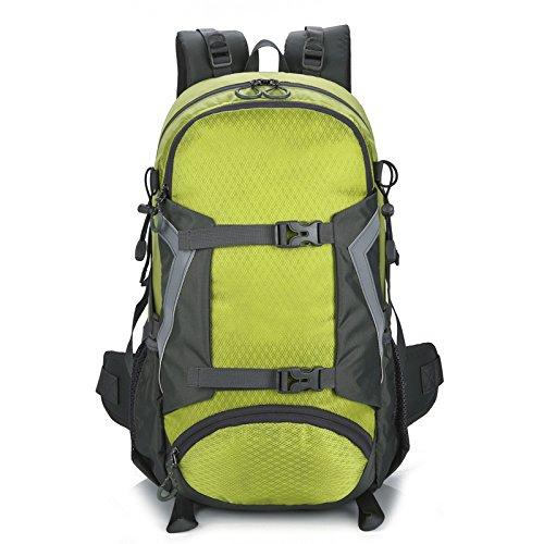 vert One_Taille LanHai Sac de Sport en Plein air randonnée Voyage Hommes et Femmes Sac à Dos étanche Multifonctionnel