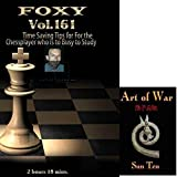 Foxy Chess Openings, 161: Time Saving Chess Tips DVD & ChessCentral's Art of War E-Book: (2 Item Bundle) by Andrew Martin