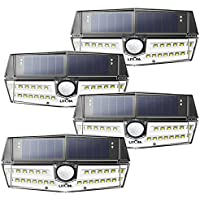 4-Pack Litom Outdoor 4th Generation 30 LED Solar Motion Sensor Lights