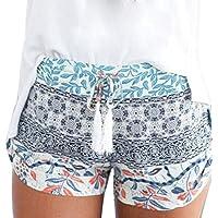 dayseventh Mujer Sexy Hot Pants Verano Casual Cintura Alta Pantalones Cortos De Playa