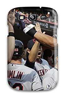 8051517K537003921 cleveland indians MLB Sports & Colleges best Samsung Galaxy S3 cases