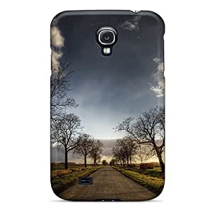 Galaxy S4 Case, Premium Protective Case With Awesome Look - Lonely Road Hd