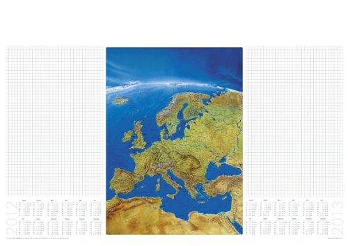Papier-Schreibunterlage Europa Panorama