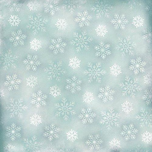Karen Foster 64988 25 Sheets Falling Snowflakes Scrapbooking Supplies