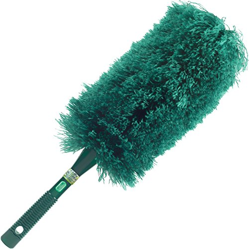 (CleansGreen Fluffy Microfiber Duster | Extendable Dusters for Cleaning; Bendable Reusable Washable Screw on Your Long Handle For Tall Ceilings; EcoFriendly | Not Ostrich Feather Lambs Wool nor Swiffer)