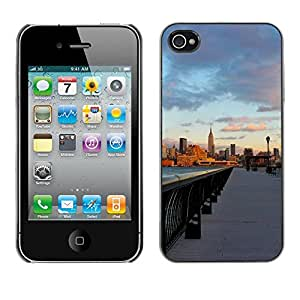 Hot Style Cell Phone PC Hard Case Cover // M00103391 places skyscrapers // Apple iPhone 4 4S