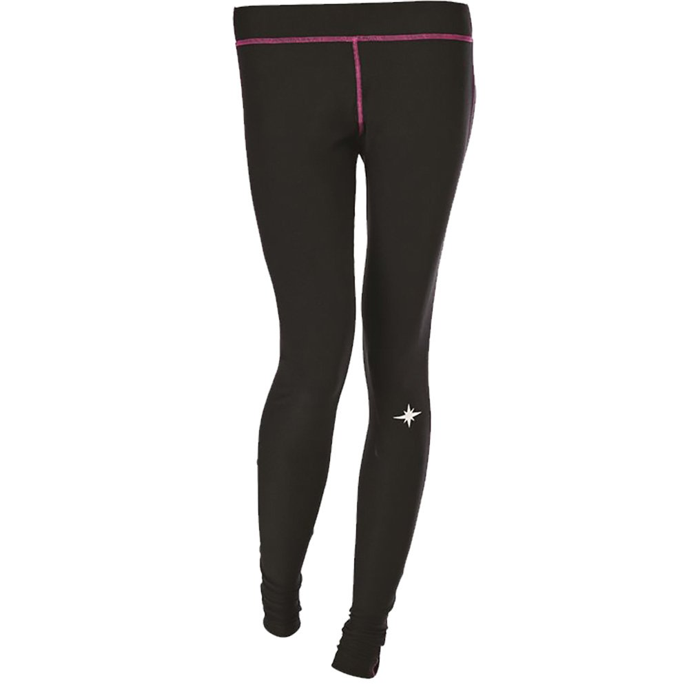 Polaris Women's Black Lightweight Polyester/Spandex Base Layer Pants - Black - XXX-Large by Polaris