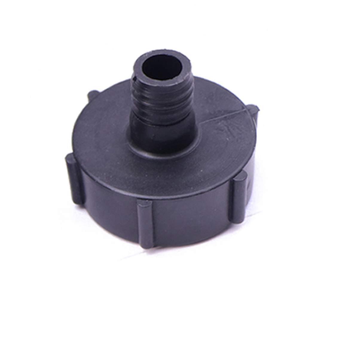 Gallon IBC Tote Tank Drain Adapter Coarse Thread 2 To 3//4 Garden Hose