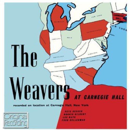 CD : The Weavers - Weavers At Carnegie Hall (CD)