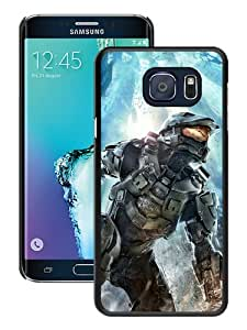 Fashionable Note 5 Edge Case,Halo Master Chief (2) Black Customized Case For Samsung Galaxy Note 5 Edge Case