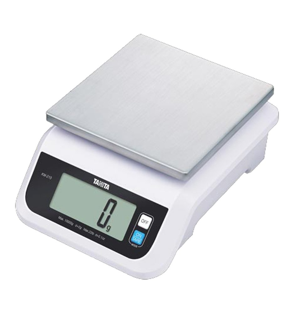 Tanita KW-210-05 Water Proof Commercial and Home Use Kitchen Scale (5 kg/11 lb) by Tanita
