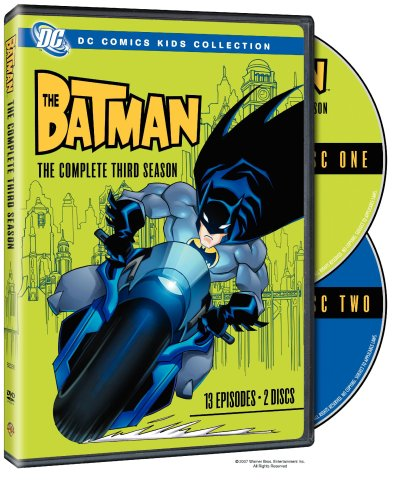 The Batman: The Complete Third Season (DC Comics Kids Collection) (Series Complete Batman Dvd Tv)