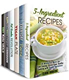 simple and quick box set 6 in 1 5 ingredient vegan ketogenic and spice recipes made easy and in not time stress free meals