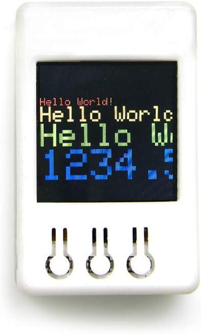 WINGONEER ESP32 1.44 inch 128x128 TFT MicroSD Card Slot Speakers Bluetooth WiFi Module DIY Box