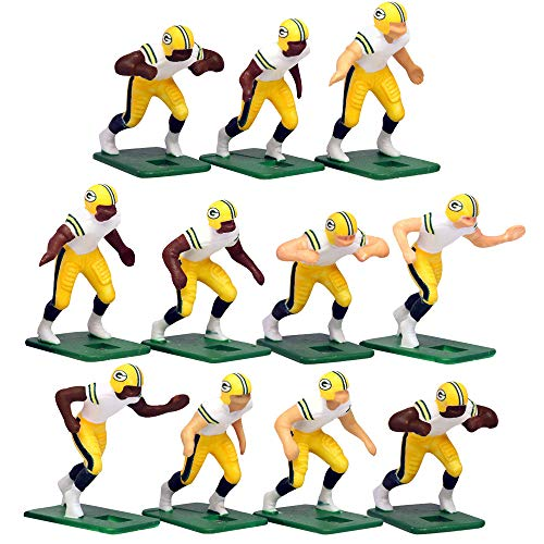 Green Bay Packers Away Jersey NFL Action Figure Set ()