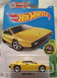 Lotus Esprit S1 Hot Wheels 2016 HW Exotics 1:64 Scale Collectible Die Cast Metal Toy Car Model #2/10 on International Long Card