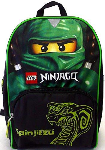 cc404cc4c Lego cbkoa-Borsone Small Bambini Giardino, Zaino Ninjago Green Nera  00126358: Amazon.it: Abbigliamento